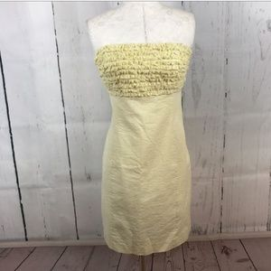 Lilly Pulitzer Yellow Seersucker dress